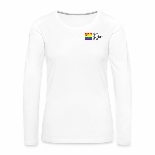 GOC Logo Black Text - Women's Premium Longsleeve Shirt