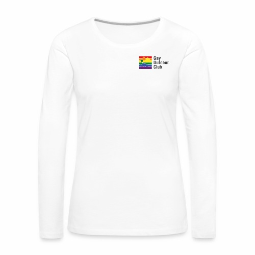 GOC Logo Black Text - Women's Premium Longsleeve Shirt
