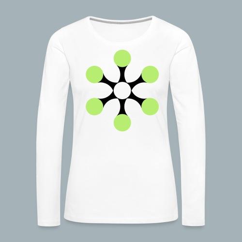 Star Bio T-shirt - Vrouwen Premium shirt met lange mouwen