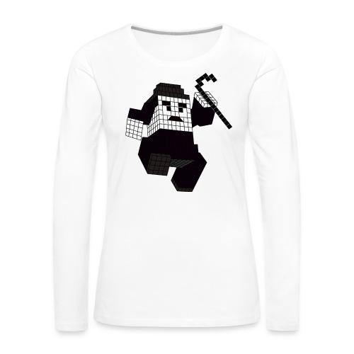 charlie - T-shirt manches longues Premium Femme