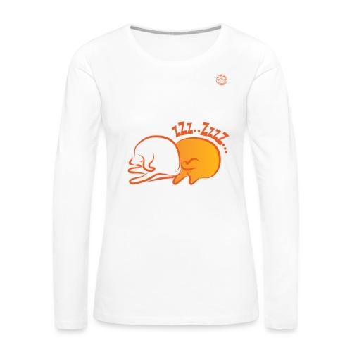 zzz 2 02 - Maglietta Premium a manica lunga da donna
