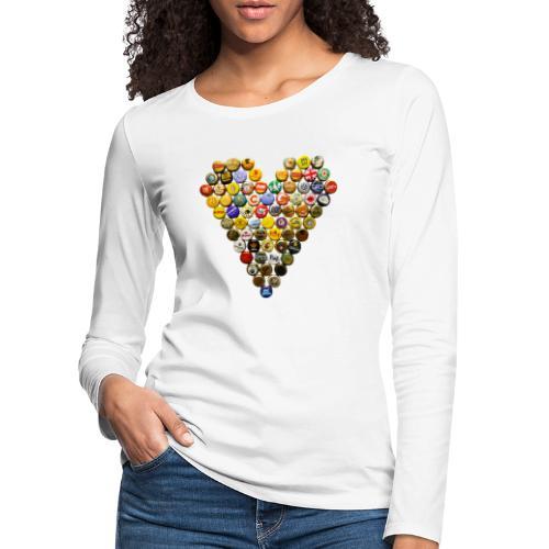 LOVERZ GONNA LOVE bière - T-shirt manches longues Premium Femme