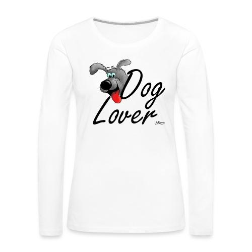 Dog Lover - Frauen Premium Langarmshirt