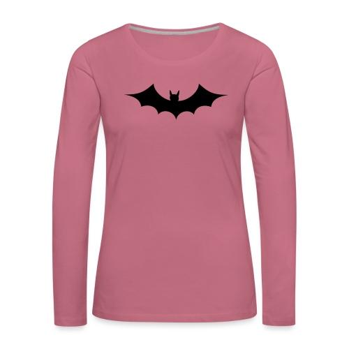 bat - T-shirt manches longues Premium Femme