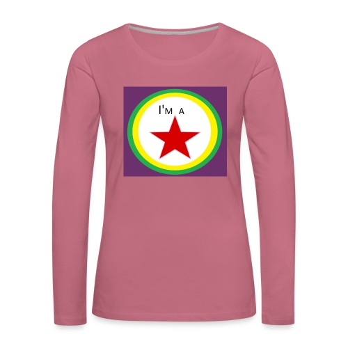 I'm a STAR! - Women's Premium Longsleeve Shirt