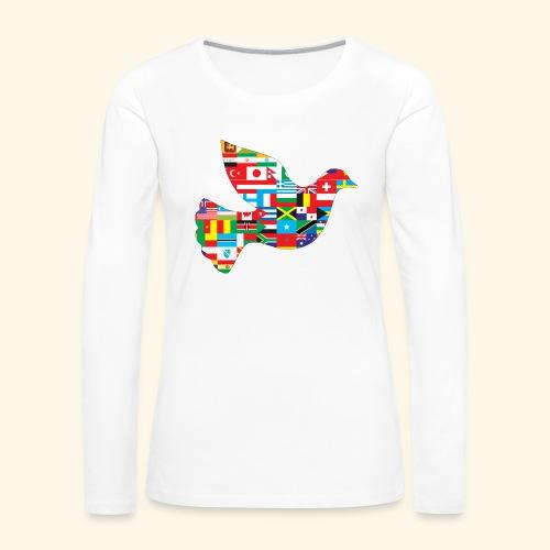 countrys t-shirt - Camiseta de manga larga premium mujer