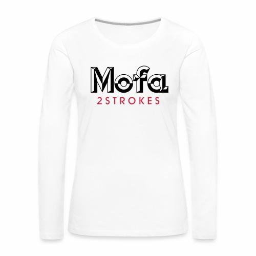 Mofa Logo Parody - 2 Strokes (v1) - Women's Premium Longsleeve Shirt