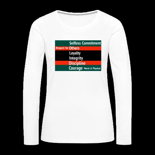S.O.L.I.D.C. - Women's Premium Longsleeve Shirt