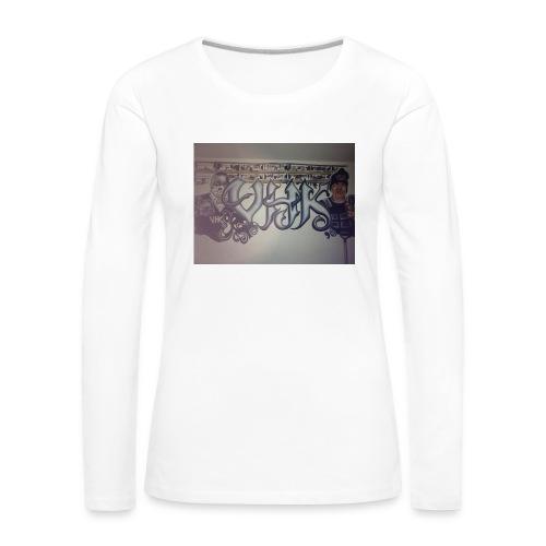 Værebro - Dame premium T-shirt med lange ærmer