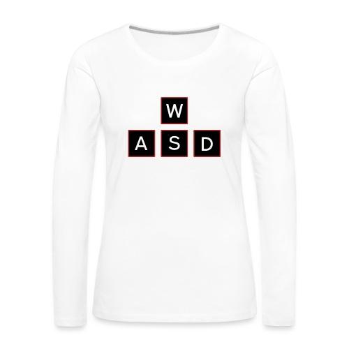 aswd design - Vrouwen Premium shirt met lange mouwen