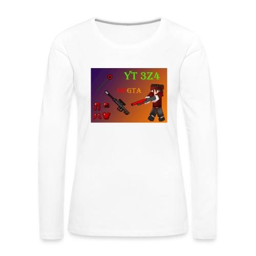 yt 3z4 - Naisten premium pitkähihainen t-paita