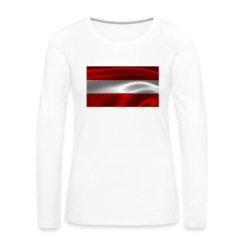 Austria I Love Austria - Frauen Premium Langarmshirt