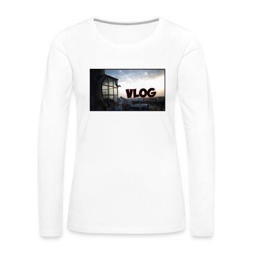 Vlog - Women's Premium Longsleeve Shirt