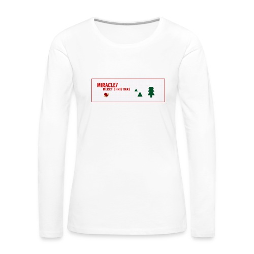 Christmas Exclusive - Women's Premium Longsleeve Shirt