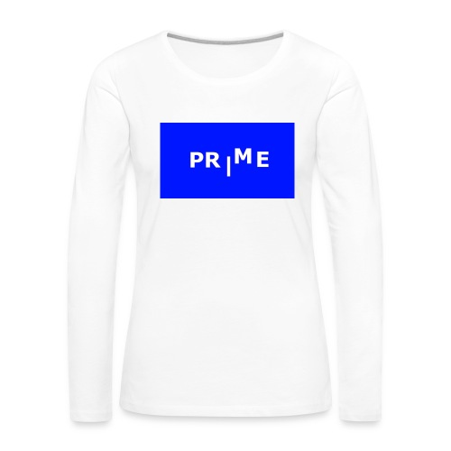 PR|ME - Långärmad premium-T-shirt dam