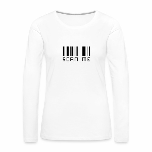 SCANNE MOI - T-shirt manches longues Premium Femme