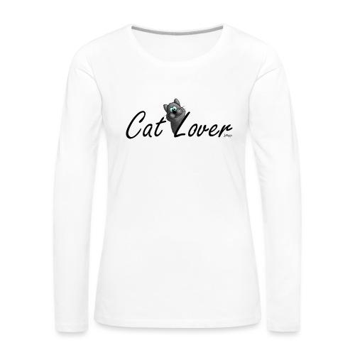 Cat Lover - Frauen Premium Langarmshirt