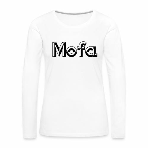 Moped Logo Parody (v1) - Women's Premium Longsleeve Shirt