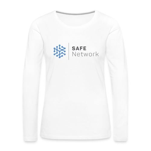 safenetwork logo - Women's Premium Longsleeve Shirt