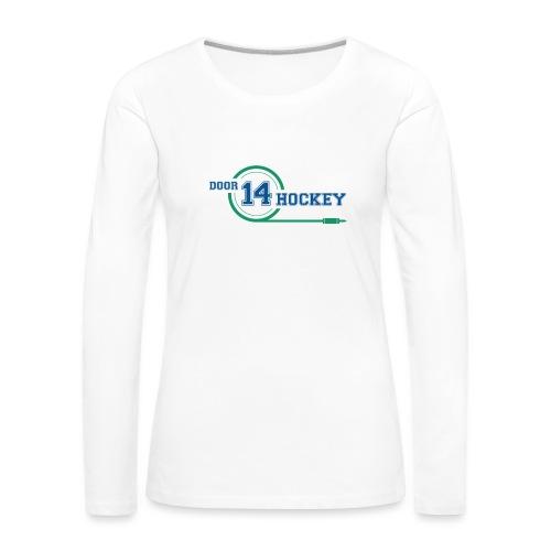 D14 HOCKEY LOGO - Women's Premium Longsleeve Shirt