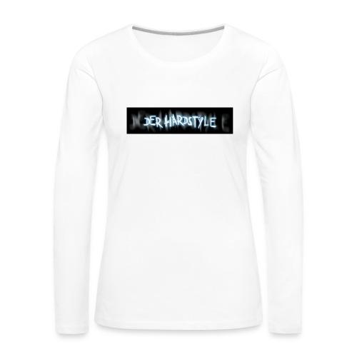 DerHardstyle ONE - Frauen Premium Langarmshirt