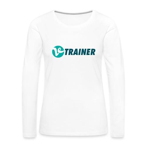 VTRAINER - Camiseta de manga larga premium mujer