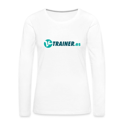 VTRAINER.es - Camiseta de manga larga premium mujer