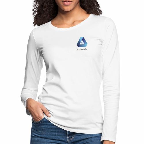 creativfy - Frauen Premium Langarmshirt