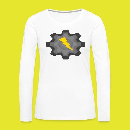 kugg - Långärmad premium-T-shirt dam