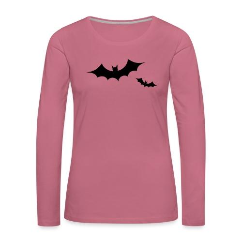 bats - T-shirt manches longues Premium Femme