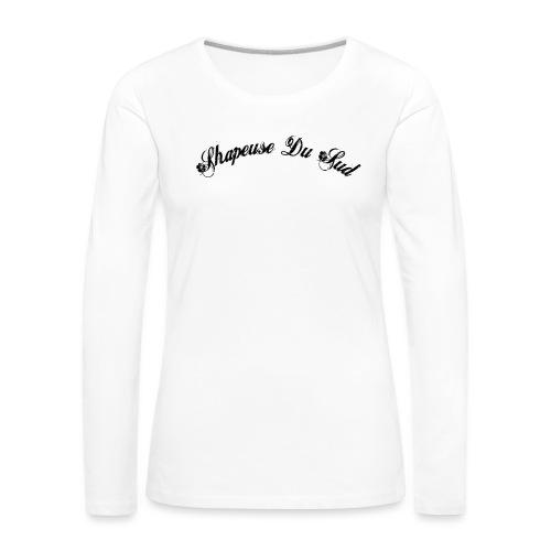 bitmap png - T-shirt manches longues Premium Femme