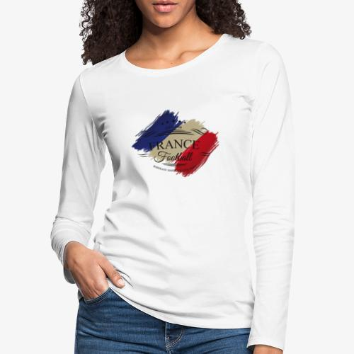 France Football - Frauen Premium Langarmshirt