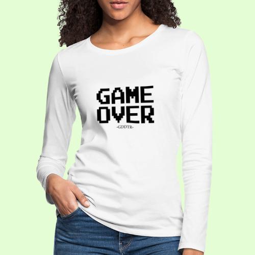 Game Over - Frauen Premium Langarmshirt