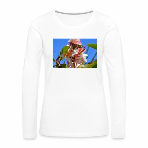 Schmetterling - Frauen Premium Langarmshirt