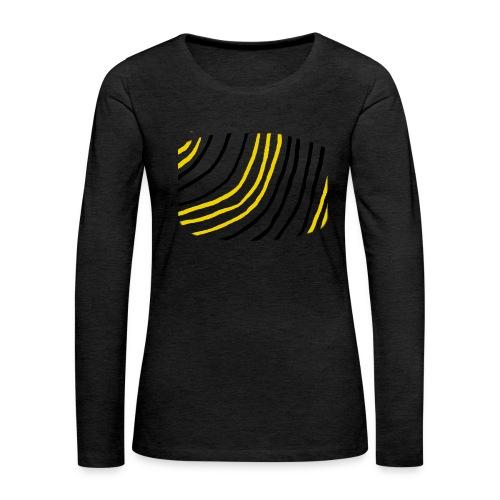 Raidat - Naisten premium pitkähihainen t-paita