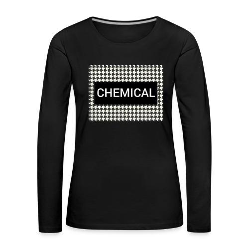 CHEMICAL - Maglietta Premium a manica lunga da donna