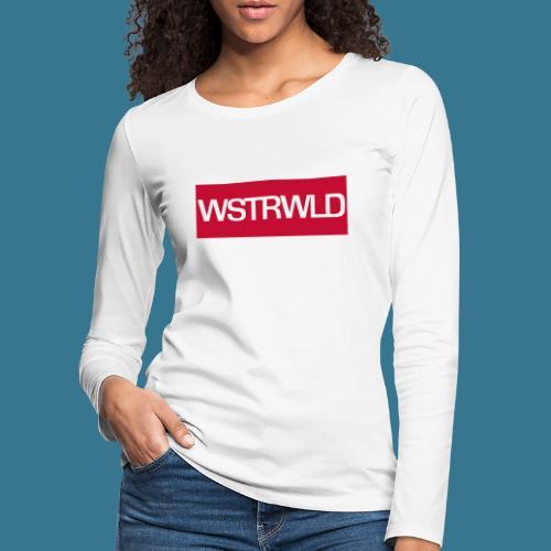 Westerwald für Hipster - Frauen Premium Langarmshirt