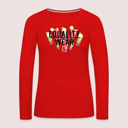 Equality Wear Summer Edition - Women's Premium Longsleeve Shirt