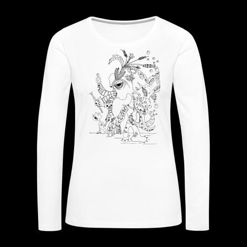 subconscientes colectivos I - Camiseta de manga larga premium mujer