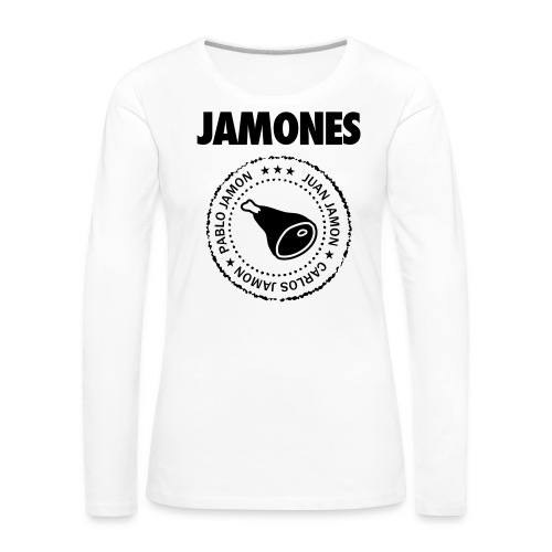 Jamones - Names - Women's Premium Longsleeve Shirt