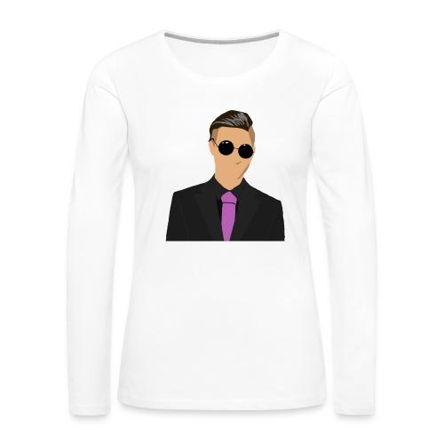 Odenshuge - Naisten premium pitkähihainen t-paita