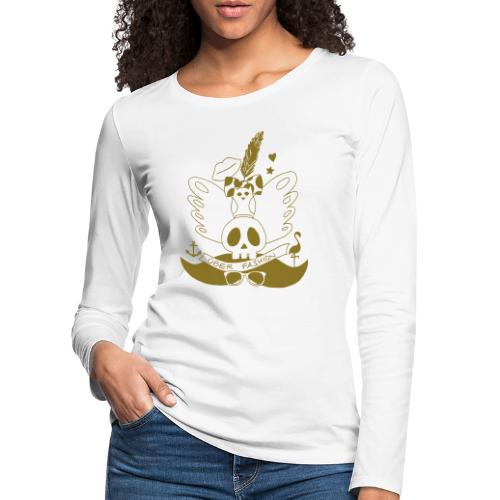 ÜBER FASHION - T-shirt manches longues Premium Femme