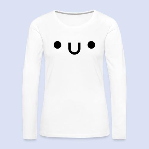 •u• - T-shirt manches longues Premium Femme
