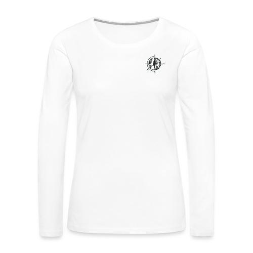 KOMPAS OFFICIAL - Vrouwen Premium shirt met lange mouwen
