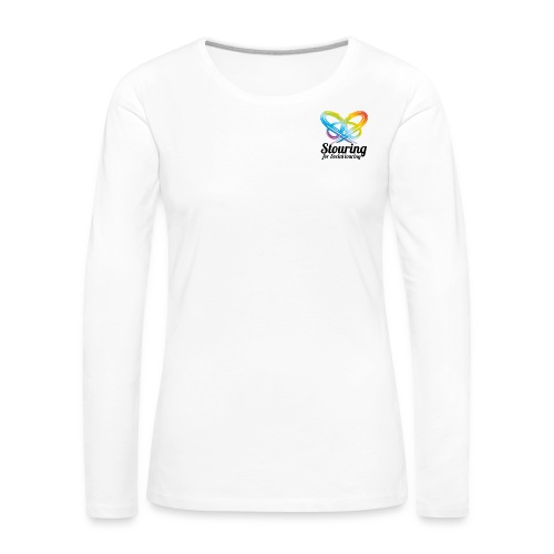 Logo carre Stouring slogan png - T-shirt manches longues Premium Femme