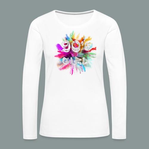 90 s girl - Frauen Premium Langarmshirt