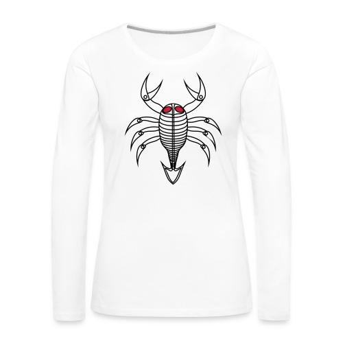 scorpio - Frauen Premium Langarmshirt
