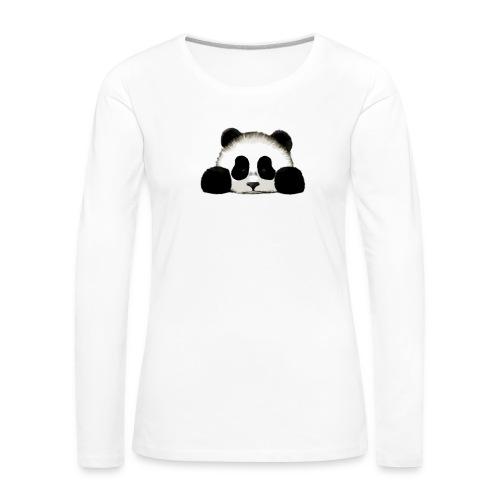 panda - Women's Premium Longsleeve Shirt