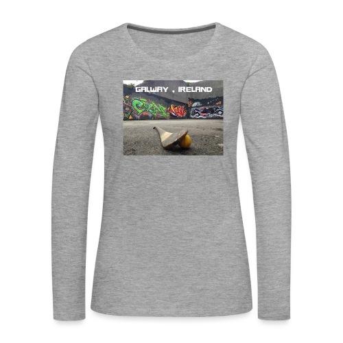 GALWAY IRELAND BARNA - Women's Premium Longsleeve Shirt