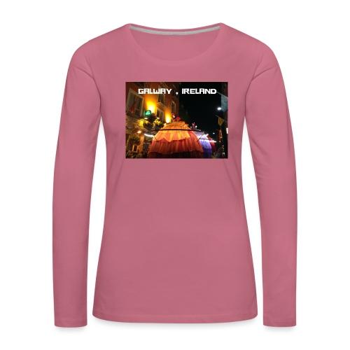 GALWAY IRELAND MACNAS - Women's Premium Longsleeve Shirt